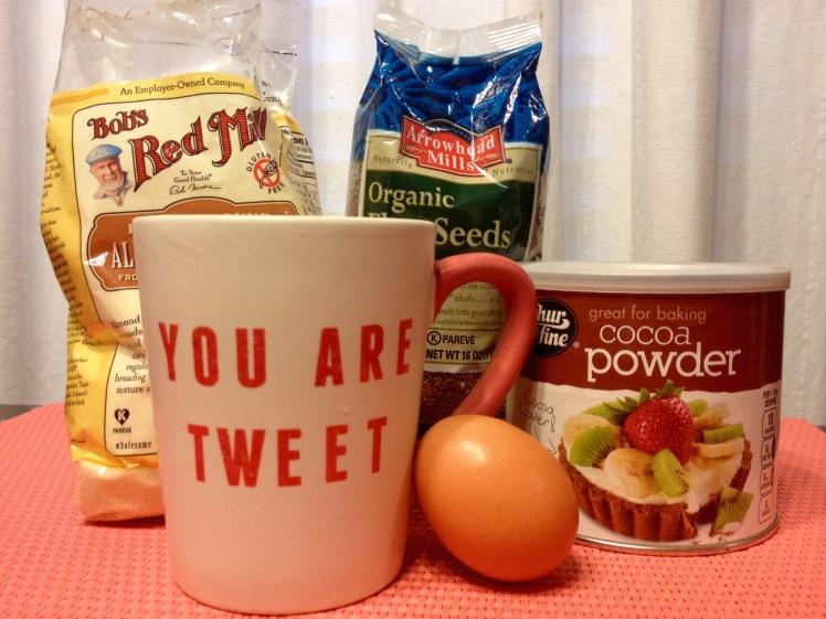 Grain Free Minute Muffin in a Mug